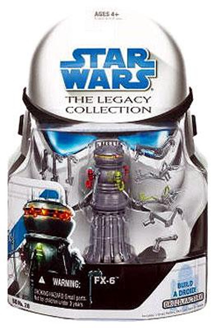 Star Wars Revenge of the Sith Legacy Collection 2008 Droid Factory FX-6 Action Figure BD28