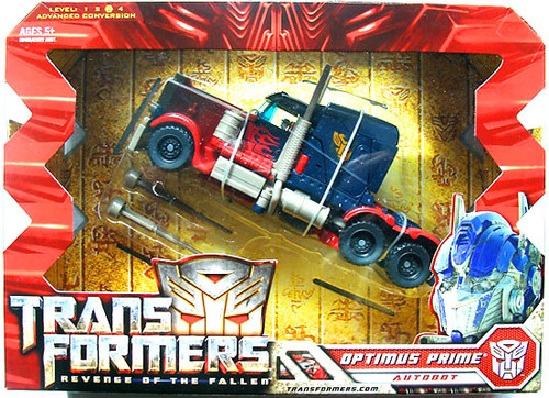 Transformers Revenge of the Fallen Optimus Prime Voyager Action Figure
