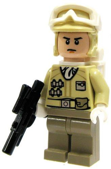 LEGO Star Wars Loose Hoth Rebel Trooper Minifigure [Blaster, Goggles Up Loose]