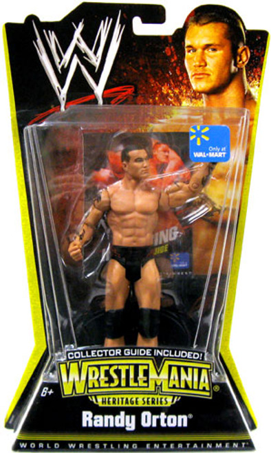 WWE Wrestling WrestleMania Heritage Series 1 Randy Orton Exclusive Action Figure