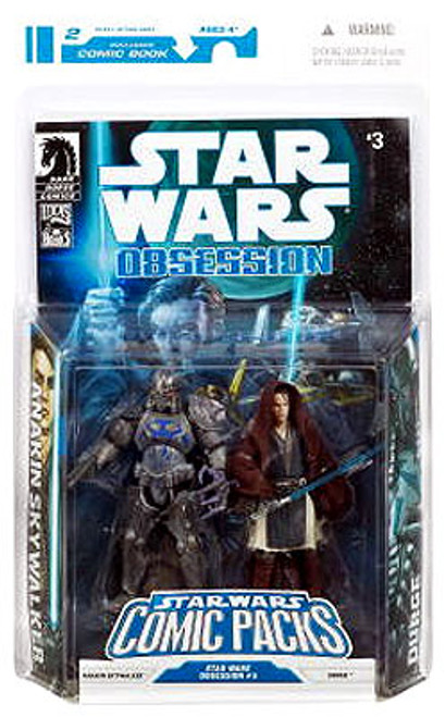 Star Wars Expanded Universe Comic Packs 2009 Anakin Skywalker & Durge Action Figure 2-Pack #3