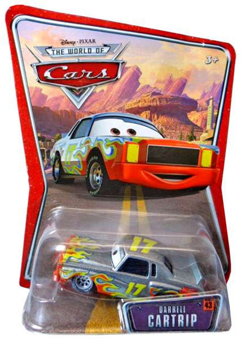 Disney Cars The World of Cars Series 1 Darrell Cartrip Diecast Car
