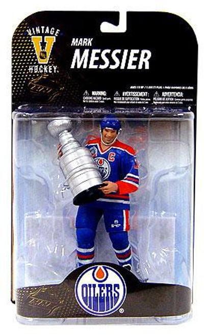 McFarlane Toys NHL Edmonton Oilers Sports Picks Legends Series 7 Mark Messier Action Figure