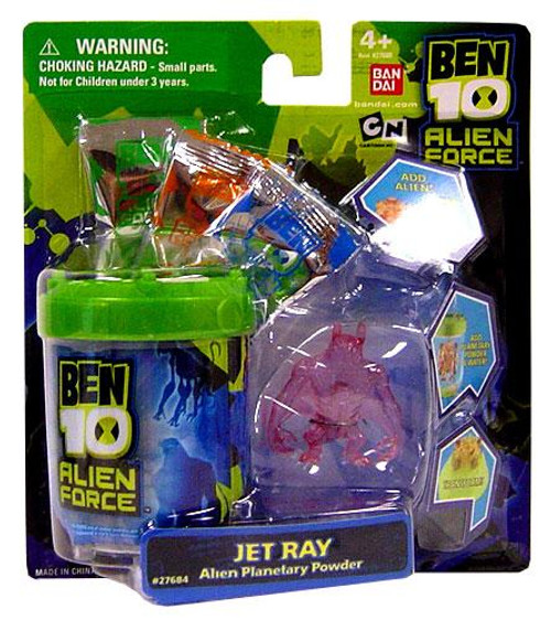 Ben 10 Alien Force Jetray Alien Planetary Powder