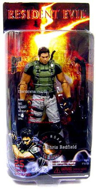 NECA Resident Evil 5 Series 1 Chris Redfield Action Figure