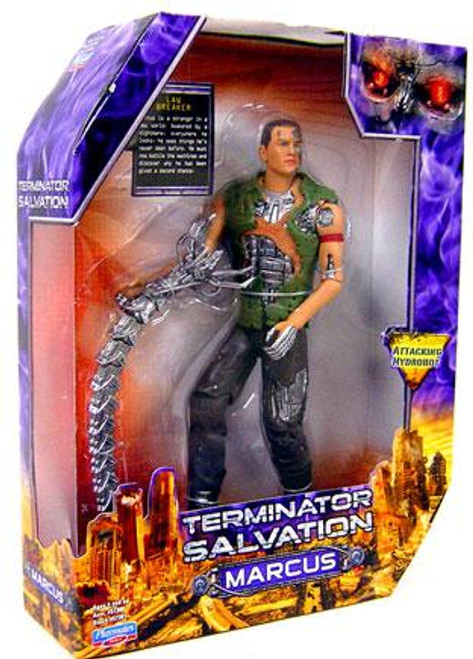 The Terminator Terminator Salvation Marcus Wright Action Figure [10 Inch]
