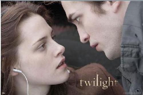 Twilight Edward & Bella Poster [Horizontal]