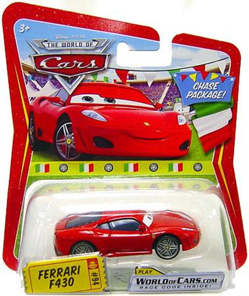 Disney Cars The World of Cars Series 1 Ferrari F430 Diecast Car [Chase]