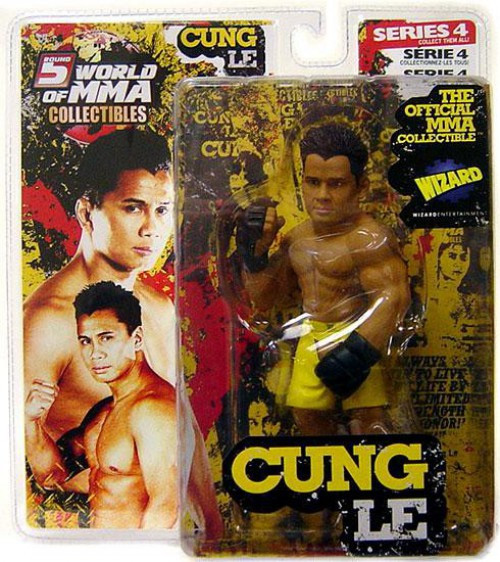 UFC World of MMA Champions Series 4 Cung Le Exclusive Action Figure