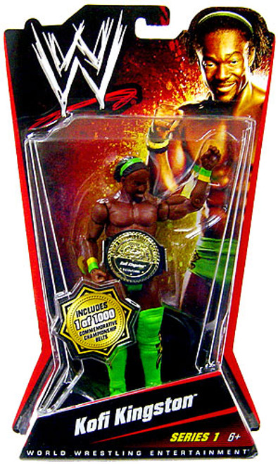 WWE Wrestling Series 1 Kofi Kingston Action Figure [Limited Edition]