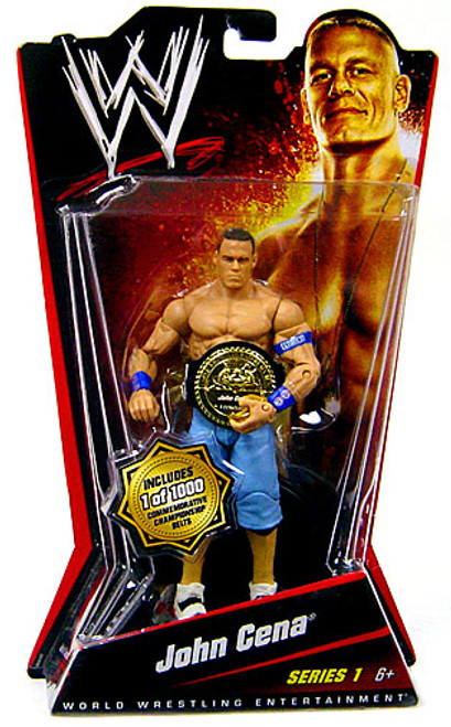 WWE Wrestling Series 1 John Cena Action Figure [Limited Edition]