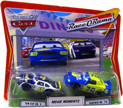 Disney Cars The World of Cars Movie Moments Tow Cap & Gasprin Diecast Car 2-Pack [Race-O-Rama]