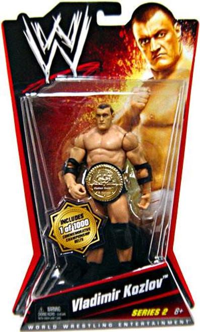 WWE Wrestling Series 2 Vladimir Kozlov Action Figure [Limited Edition]