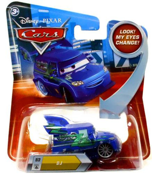 Disney Cars Lenticular Eyes Series 2 DJ Diecast Car