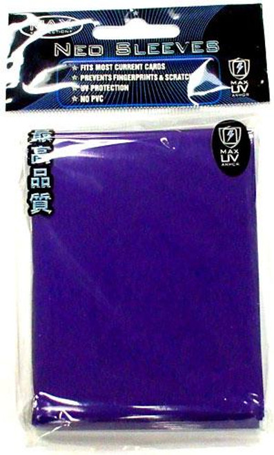 Card Supplies Neo Sleeves Flat Blue Standard Card Sleeves [50 ct]