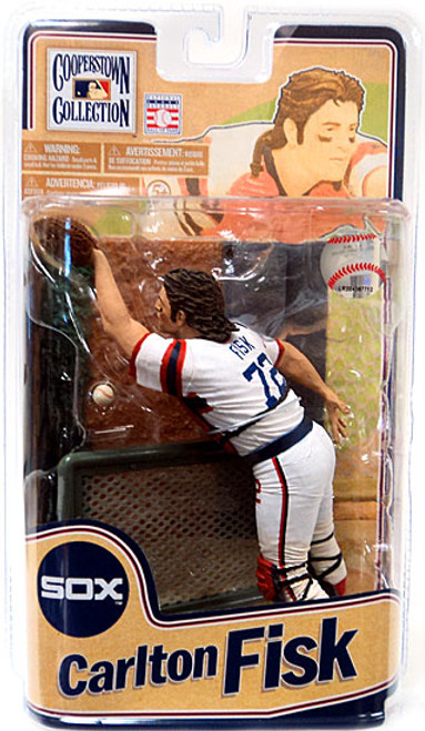 McFarlane Toys MLB Cooperstown Collection Series 8 Carlton Fisk Action Figure [Variant]