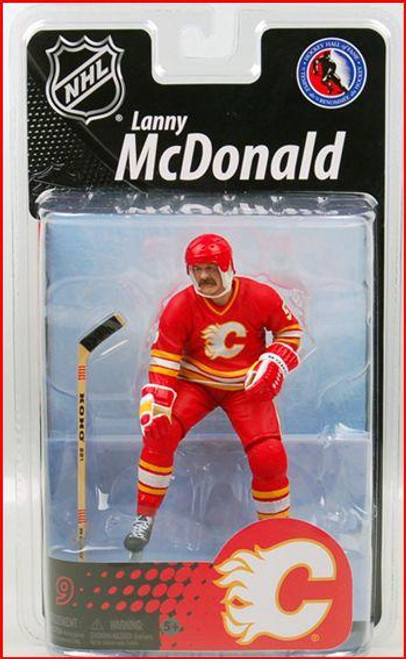 McFarlane Toys NHL Calgary Flames Sports Picks Exclusive Lanny McDonald Exclusive Action Figure