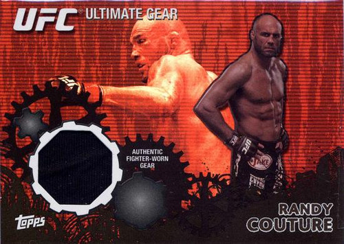 UFC 2010 Championship Ultimate Gear Relic Randy Couture UG-RC [Black Background]