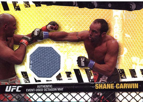 UFC 2010 Championship Fight Mat Relic Shane Carwin FM-SC [Gray]