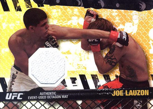 UFC 2010 Championship Fight Mat Relic Joe Lauzon FM-JL [White]