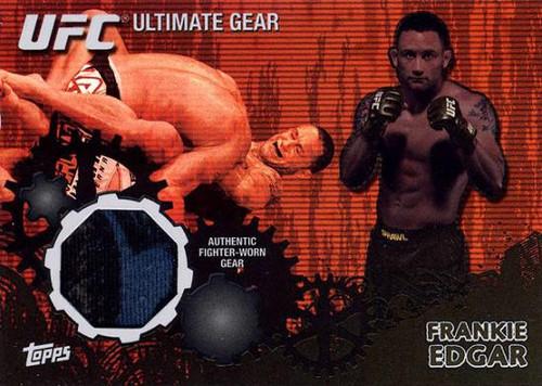 UFC 2010 Championship Ultimate Gear Relic Frankie Edgar UG-FE [Black & Blue]