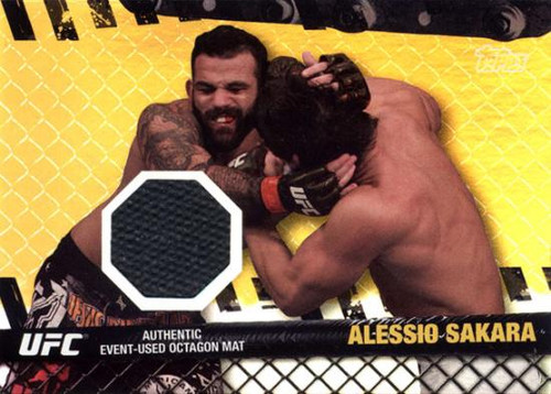 UFC 2010 Championship Fight Mat Relic Alessio Sakara FM-AS [Black]
