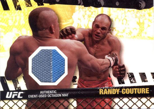 UFC 2010 Championship Fight Mat Relic Randy Couture FM-RC [Gray & Blue]
