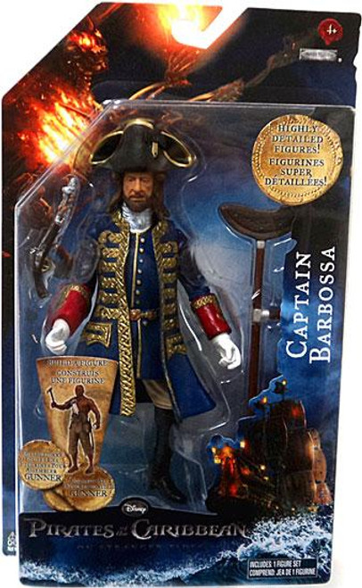 Pirates of the Caribbean On Stranger Tides Series 1 6 Inch Captain Barbossa Action Figure