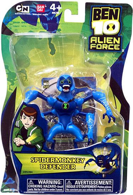 Ben 10 Alien Force Spidermonkey Action Figure [Defender, 2011]