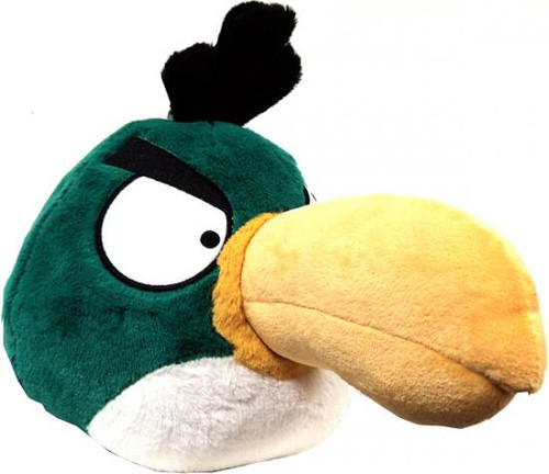 Angry Birds Toucan 8-Inch Plush [Green Bird, With Sound]