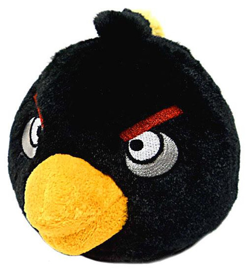 Angry Birds Black Bird 12-Inch Plush [With Sound]