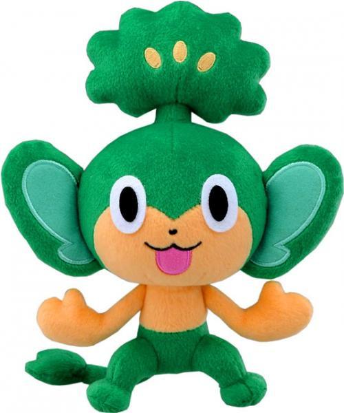 Pokemon 8 Inch Pansage Plush N-10