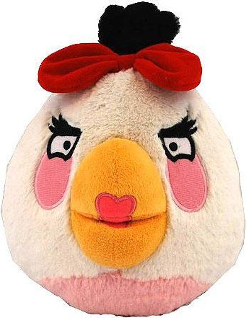 Angry Birds White Girl Bird 8-Inch Plush [With Sound]