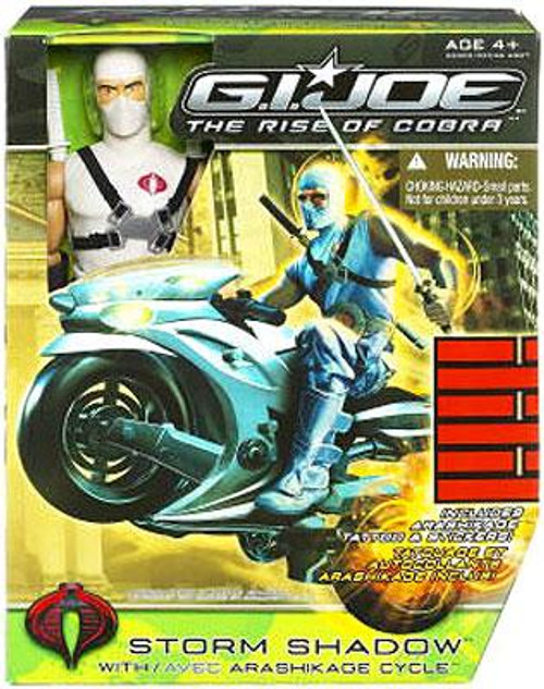GI Joe The Rise of Cobra Storm Shadow Exclusive 12 Inch Action Figure