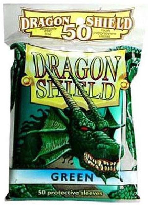 Card Supplies Dragon Shield Green Standard Card Sleeves [50 ct]