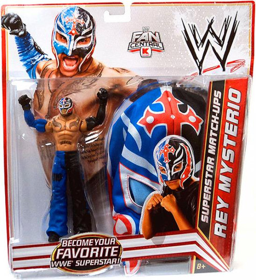 WWE Wrestling Superstar Match-Ups Rey Mysterio Exclusive Action Figure [Blue & Black Pants]