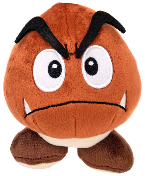 Super Mario Bros Goomba 5-Inch Plush