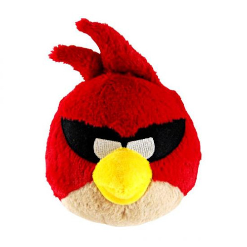 Angry Birds Space Super Red Bird 8-Inch Plush [With Sound]