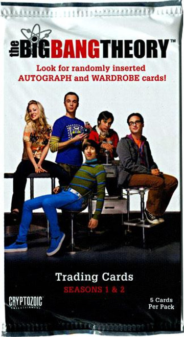 The Big Bang Theory Seasons 1 & 2 Trading Card Pack