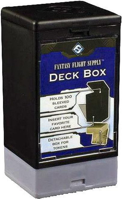 Card Supplies Black Deck Box