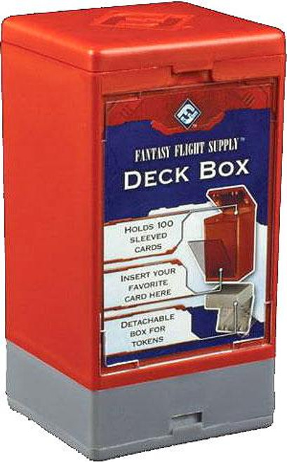 Card Supplies Red Deck Box