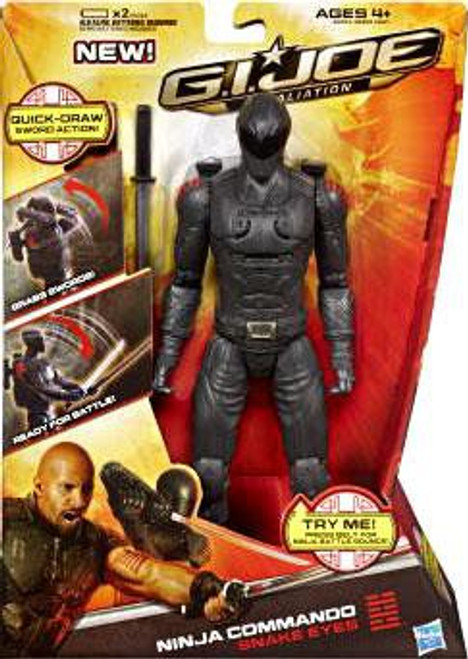 GI Joe Retaliation Snake Eyes Action Figure [Ninja Commando]