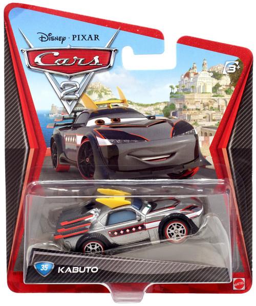 Disney Cars Cars 2 Main Series Kabuto Diecast Car