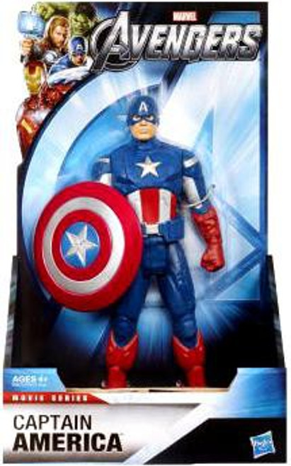 Marvel Avengers Movie Series Captain America Action Figure [8 Inch]