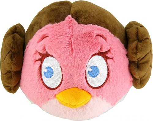 Star Wars Angry Birds Princess Leia Bird 16-Inch Plush