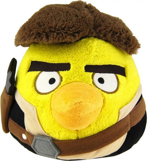 Star Wars Angry Birds Han Solo Bird 16-Inch Plush