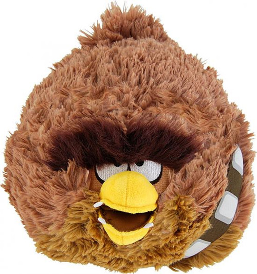 Star Wars Angry Birds Chewbacca Bird 16-Inch Plush