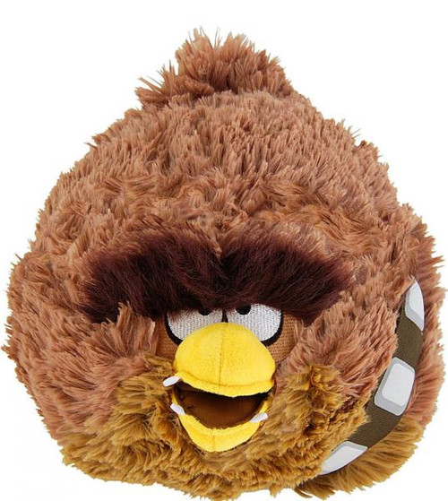 Star Wars Angry Birds Chewbacca Bird 12-Inch Plush