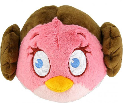 Star Wars Angry Birds Princess Leia Bird 12-Inch Plush