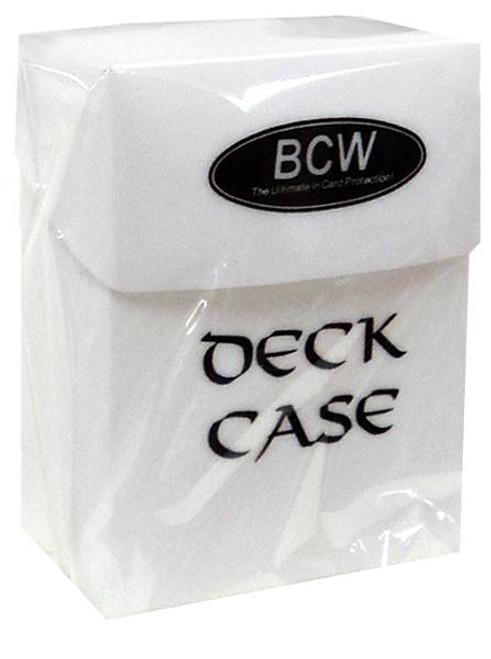 Card Supplies White Deck Box